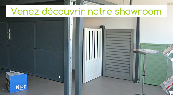 showroom DVD industrie-Porte garage Grenoble
